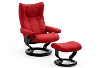 Wing Stressless Chair and Otto