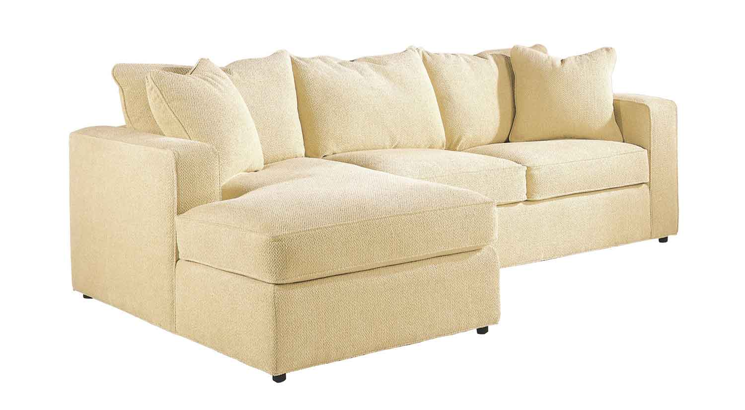 Circle Furniture Milford Chaise Sectional Chaise Sofa Acton Circle Furniture