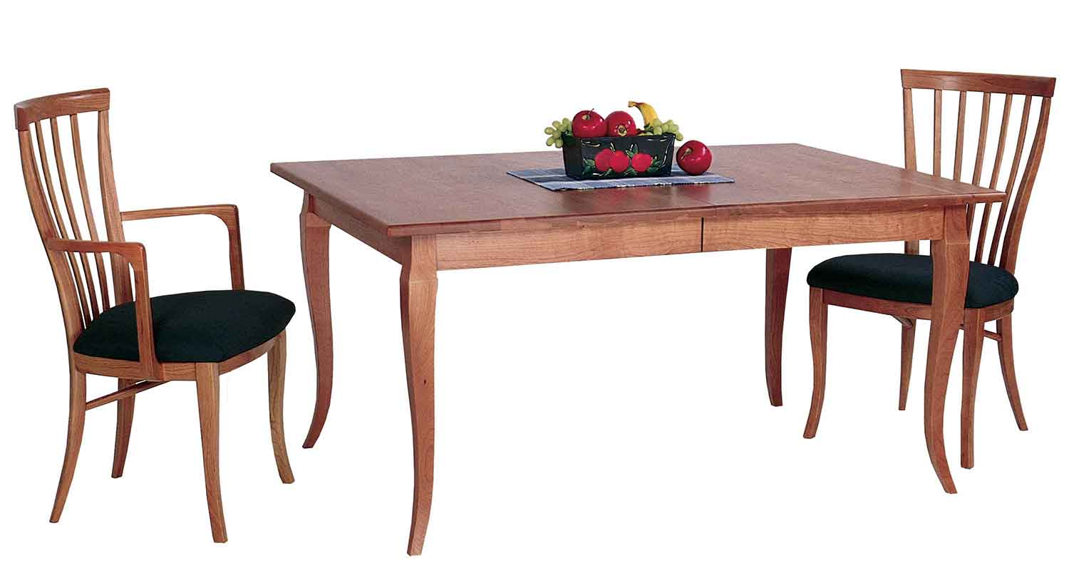 Circle furniture french country table designer dining for Country dining table with bench