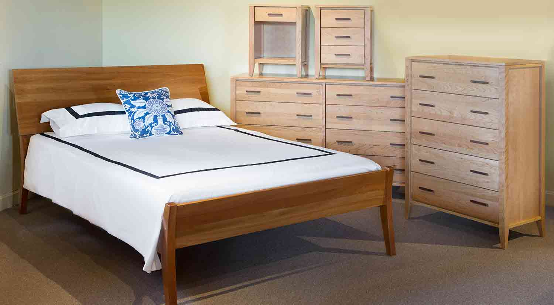 Circle Furniture Luna Nightstand Bedroom Furniture Ma